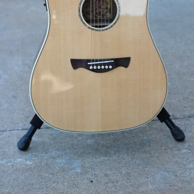 Tagima Vancouver-EQ Acoustic Electric Guitar in Natural for sale