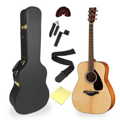 Yamaha FG800 Acoustic Guitar Bundle - with Hard Case