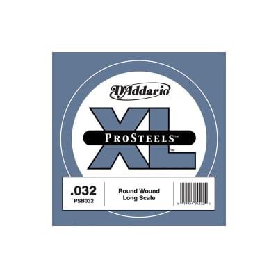 D'Addario Pro Steels Wound Single Bass String PSB032