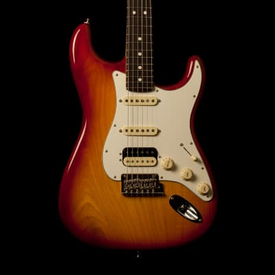 Fender Stratocaster American Professional HSS Aged Cherry Burst Used 2018 for sale