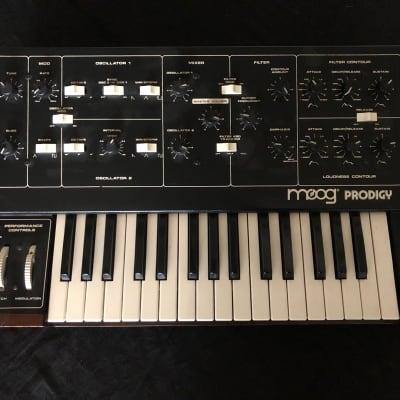 Vintage analog monophonic synthesizer