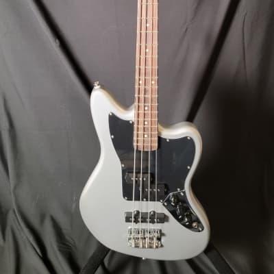Squier Vintage Modified Jaguar Bass Special SS (Short Scale) 2010s Silver