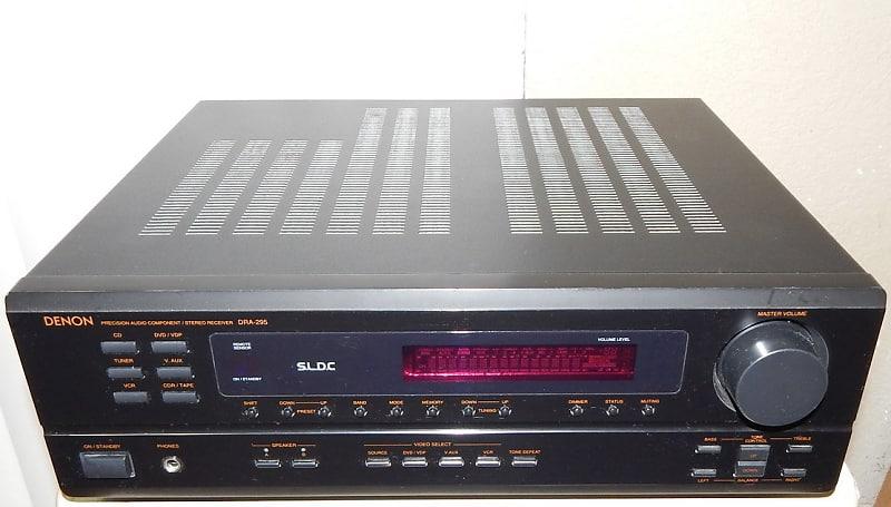 Denon RDA-295 stereo only receiver no surround