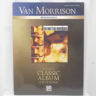 Van Morrison Moondance Alfred's Classic Albums Edition Piano Vocal Chords Sheet Music Song Book