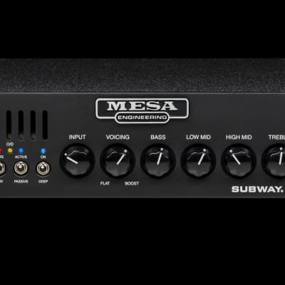 Mesa Boogie Subway D-800 800-Watt Bass Amp Head