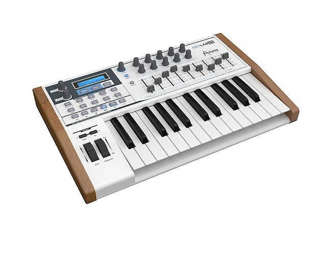 arturia keylab 25 key compact midi keyboard controller reverb. Black Bedroom Furniture Sets. Home Design Ideas