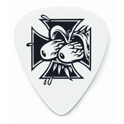Dunlop BL41R073 Frank Kozik Eyes Cross Tortex .73mm Guitar Picks (36-Pack)
