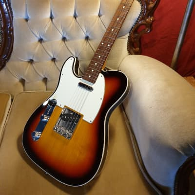 Fender Telecaster Custom '62 Reissue MIJ Left Handed 2018 3-Tone Sunburst for sale