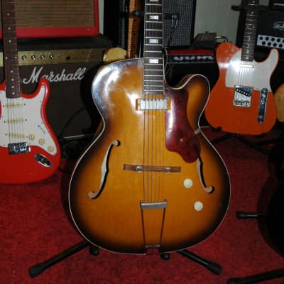 Epiphone Zephyr Regent 60 's 2 Color Sunburst for sale