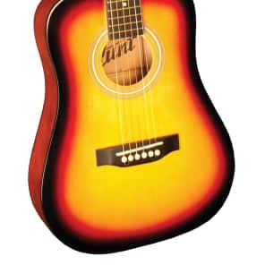 Indiana I-34-VB  Runt Series 34-Inch Acoustic Guitar -  Vintage Burst for sale