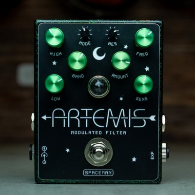 Spaceman Artemis Modulated Filter 2020 Uranium Sparkle 57/99