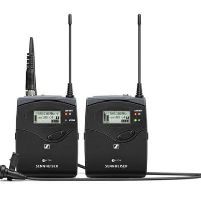 Sennheiser EW 112P G4 Wireless ME 2-II Lavalier Mic System Group A1