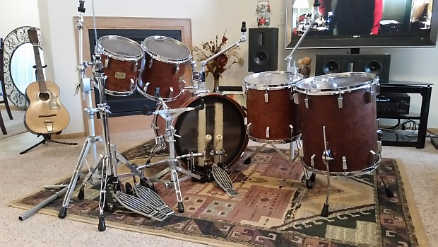471957a5088a Sonor Signature Late 80 s Bubinga