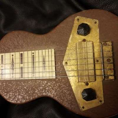 Mastertone Special Lap Steel 40's Brown, Made by Gibson for sale