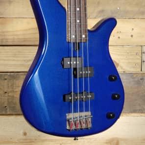 Yamaha RBX170 4-String Bass Guitar Metallic Blue