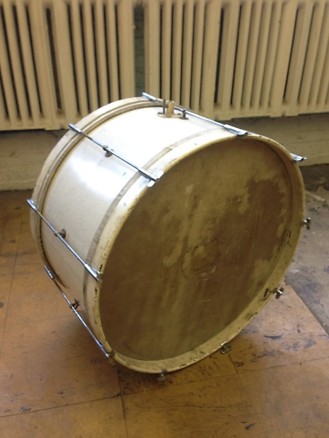 ludwig 1920s 23 bass drum with calf skin heads from reverb. Black Bedroom Furniture Sets. Home Design Ideas