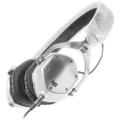 V-Moda XS On-Ear Headphones - White Silver