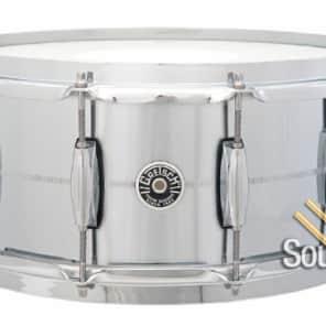 Gretsch 6.5x14 G4164 Chrome Over Brass Snare Drum