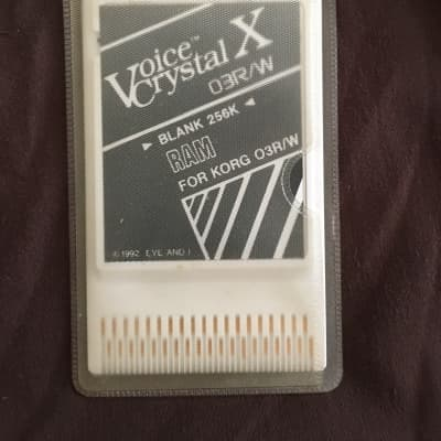 Voice Crystal X 03R/W 1989