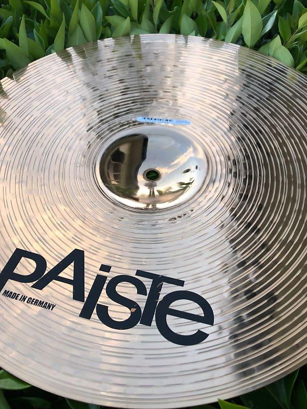 paiste 16 alpha medium crash cymbal bright sound free reverb. Black Bedroom Furniture Sets. Home Design Ideas