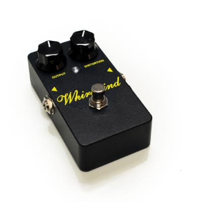 Whirlwind FXGOLDP Vintage style Gold Box Distortion Pedal Electric guitar distortion USA for sale