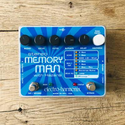Electro-Harmonix Memory Man Stereo with Hazarai