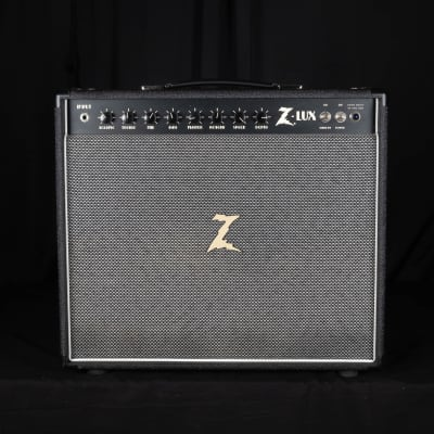 """Used Dr. Z Z-Lux 112 20/40-watt 1x12"""" Tube Combo Amplifier Black/Salt & Pepper Grill Cloth"""