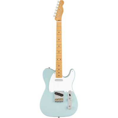 Fender Vintera '50s Telecaster Electric Guitar, 21 Frets, Early '50s  U  Shape Neck, Maple Fingerboard, Gloss Polyester, Sonic Blue for sale