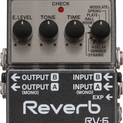 Boss RV6 Stereo Digital Reverb for sale