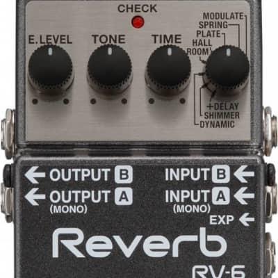 Boss RV6 Stereo Digital Reverb for sale