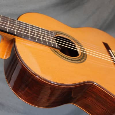 Dieter Muller Cedar double top classical guitar 2017 French polish for sale