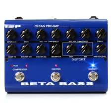 ISP Technologies Beta Bass Preamplifier Preamp pedal