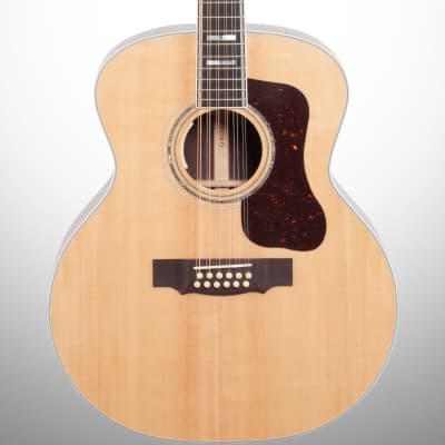 Guild F-512E Acoustic-Electric Guitar, 12-String (with Case), Natural for sale