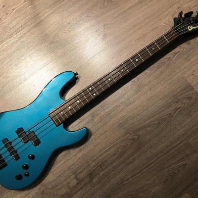 Charvel 3B Metallic Blue bass for sale