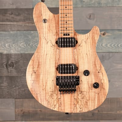 EVH Wolfgang WG Standard Exotic Spalted Maple, Baked Maple Fingerboard, Natural for sale