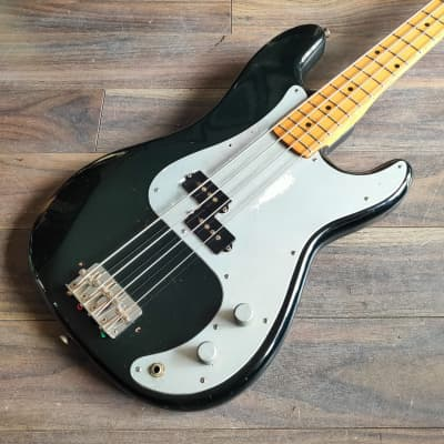 1970's Fresher Japan Personal Precision Bass (Black) for sale