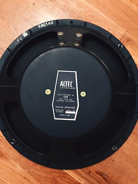 Altec Lansing 416-8A Speaker | Bill's Shop