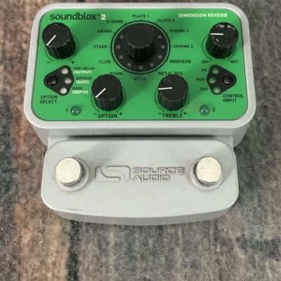 Used Source Audio Soundblox 2 Dimension Reverb Pedal