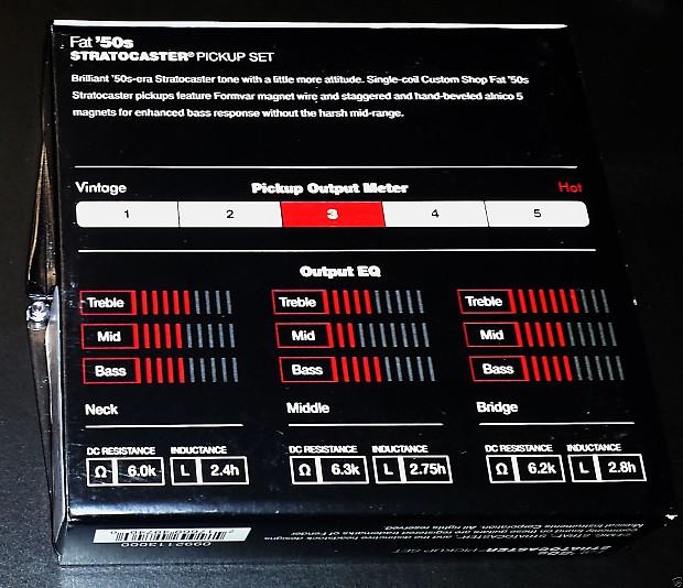 Fender Fat 50s Pickups : fender custom shop fat 50s pickups reverb ~ Hamham.info Haus und Dekorationen