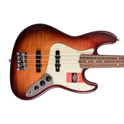 Fender  Limited Edition Exotic American Professional Jazz Bass  2017 Aged Cherry Burst