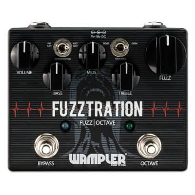 New Wampler Fuzztration Fuzz and Octave Guitar Effects Pedal!