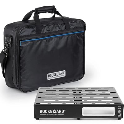 RockBoard QUAD 4.1 PedalBoard With Gig Bag for sale