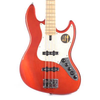 Sire Marcus Miller V7 Swamp Ash 4-String Bright Metallic Red (2nd Gen) for sale