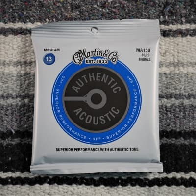 Martin Strings 80/20 Bronze Acoustic Strings Medium