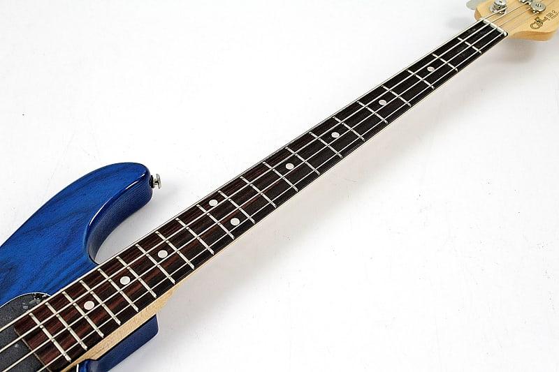 1999 g l sb 2 bass guitar blue with ohsc paperwork reverb. Black Bedroom Furniture Sets. Home Design Ideas