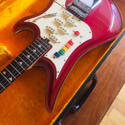 Teisco Spectrum 5 Metallic Red 1966 for sale