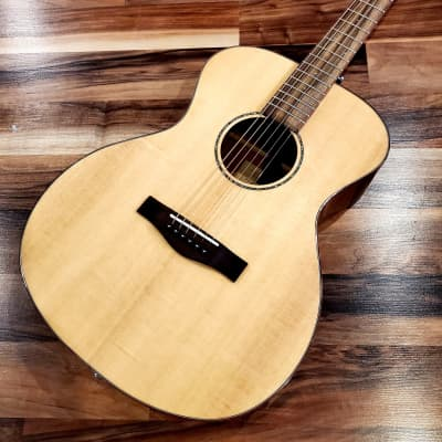 St. Matthew OM-2E Orchestra Solid Top Acoustic Guitar for sale