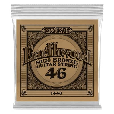 Ernie Ball .046 Single Nickel Wound String