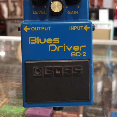 Boss BD-2 Blues Driver with Keeley Mod