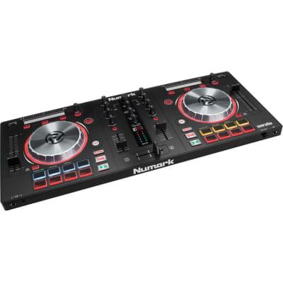 Numark - Mixtrack Pro 3 - DJ Controller for Serato DJ Built-in Sound Card - Black